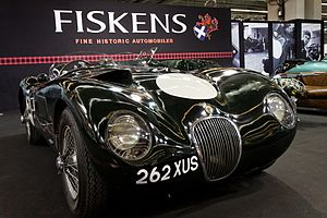 1953 World Sportscar Championship - Jaguar placed second with its C-Type