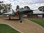 RAAF (A3-41) Dassault Mirage III gate guardian at RAAF Base Wagga.jpg