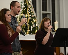 RAF Mildenhall chapel hosts first Christmas Music Extravaganza 131204-F-DL987-034.jpg