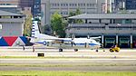 ROCAF Fokker 50 5003 Moving by Tractor at Songshan Air Force Base 20161220a.jpg