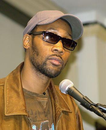 English: Wu Tang Clan co-founder RZA in New Yo...