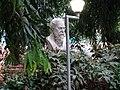 Rabindranath Tagore sculpture at Tagore Park - Mangalore.jpg