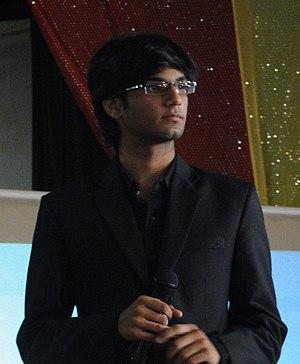 Raghav Sood speaking at CCET.JPG