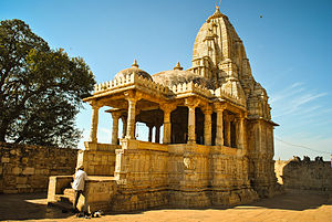Meera - Meera's temple to Krishna at Chittor Fort, Rajasthan