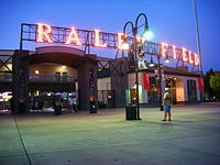 Raley Field, home of the Sacramento River Cats