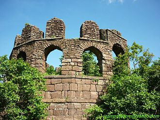 Telangana - Ramagiri Fort ruins at Kalvacherla in Peddapalli district is an ancient fort initially built by the Sathavahanas and modified many times by other dynasties till 16th century.