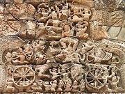 Ramayana war - angkor