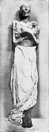 La mummia di Ramesse II