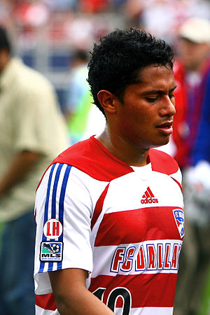 Ramón Núñez - Ramón Núñez playing for FC Dallas