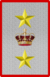 Rank insignia of tenente generale in comando di corpo d'armata of the Italian Army (1918).png