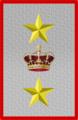 Rank insignia of tenente generale in comando di corpo d'armata of the Italian Army (1918).png
