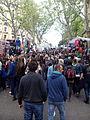 Rastro de Madrid, gente, España, 2015.jpg