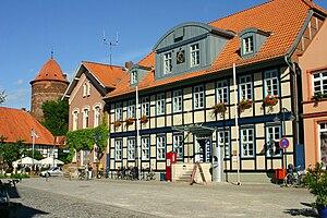 Dannenberg (Elbe) - Old city hall of Dannenberg