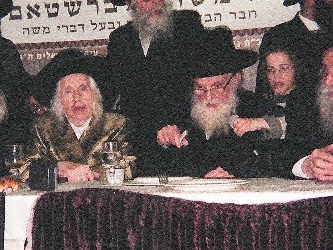 Rav moshe sternbuch and kaliver rebbe