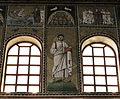 Ravenna, sant'apollinare nuovo, int., santi e profeti, epoca di teodorico 09.JPG