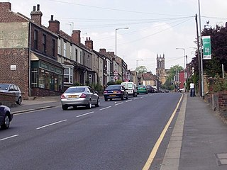 Rawmarsh Village in South Yorkshire, England