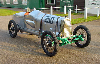 Razor Blade - The Razor Blade today as a Grand Prix car exhibit at the Brooklands Museum, Surrey.