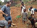 Real African people working on their little farm in Freetown.jpg