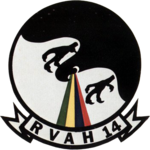 Reconnaissance Heavy Attack Squadron 14 (US Navy) insignia c1973.png