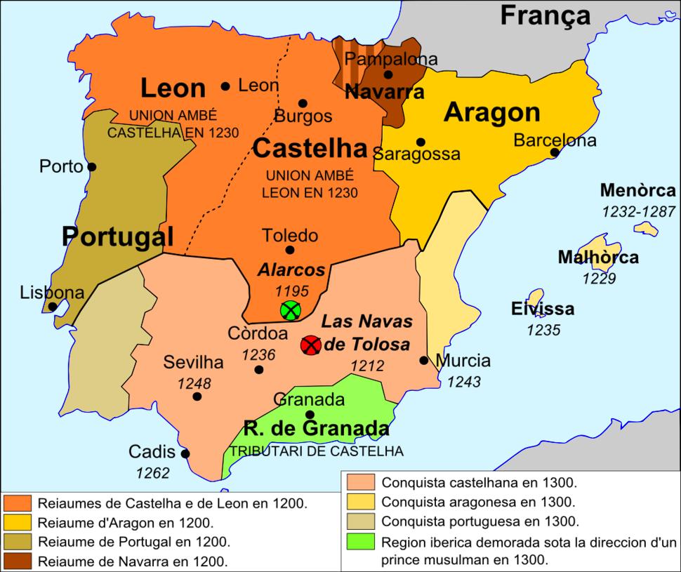 Reconquista - Sègle XIII