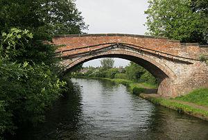 Listed buildings in Stockton Heath - Image: Red Lane Bridge, Stockton Heath