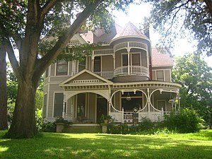 Caldwell, Texas - Historic Reeves-Womack House in Caldwell