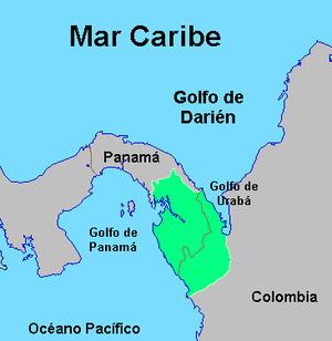 Gulf of Darién - Image: Región Darién