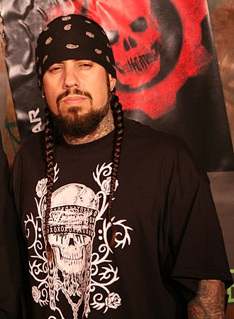 Nu metal - Korn bassist Fieldy (pictured) cites bassists such as Flea of Red Hot Chili Peppers and Les Claypool of Primus as influences.