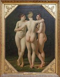 Jean-Baptiste Regnault: The Three Graces
