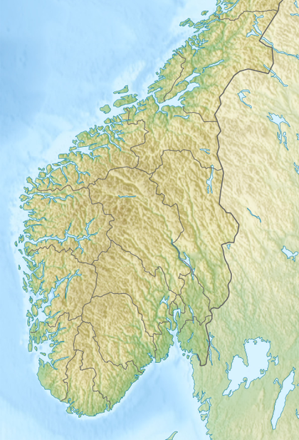 Allied Forces South Norway is located in South Norway