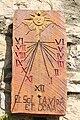 Rellotge de sol, casa a Bellpui, Valls d'Aguilar, Alt Urgell. Lleida.jpg