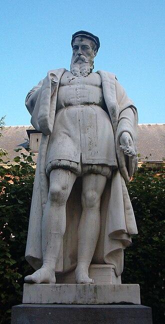 Rembert Dodoens - Statue of Dodoens, Botanical Garden, Mechelen