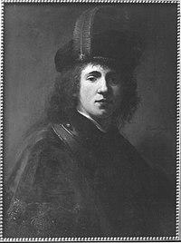 Rembrandt (Harmensz. van Rijn) (Werkstatt) - Ein junger Mann - 4802 - Bavarian State Painting Collections.jpg