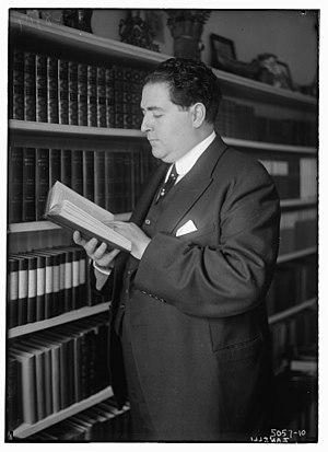 Renato Zanelli - Image: Renato Zanelli circa 1915