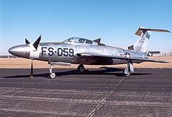 Το πρωτότυπο XF-84H Thunderscreech