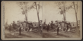 Residents surveying the damage, by Camp, D. S. (Daniel S.).png