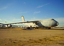 Retired C-5 Galaxy transports at Davis-Monthan.jpg