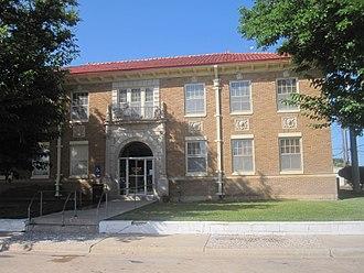 Littlefield, Texas - City Hall in Littlefield (built 1930)