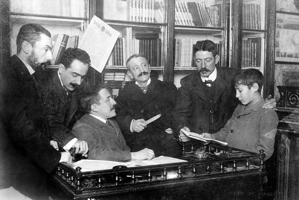 Revista Gallega, redacción, 1905