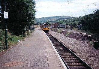 Rhymney railway station - Rhymney Station in August 2005