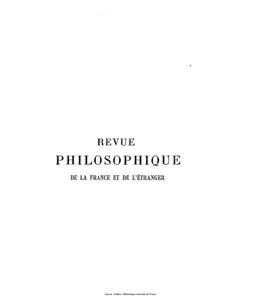 File:Ribot - Revue philosophique de la France et de l'étranger, tome 70.djvu