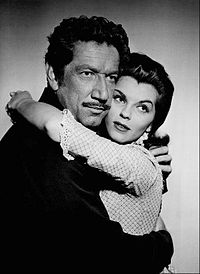 Richard Boone Lisa Gaye Have Gun Will Travel 1958.JPG