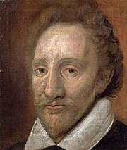 Richard Burbage, probably one of the first actors to portray Romeo.