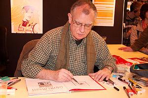 F'Murr - F'Murr at a book fair in Paris, France, in March 2008.