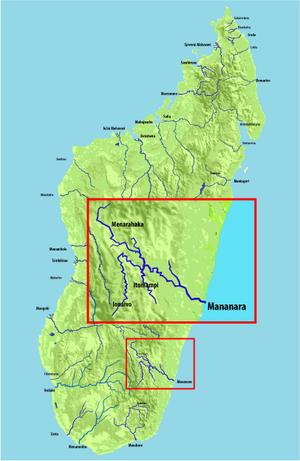 Mananara River - Image: Rijeka Mananara