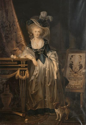 Louise Marie Adélaïde de Bourbon, Duchess of Orléans - The Duchess of Chartres by Charles Lepeintre, 1786.