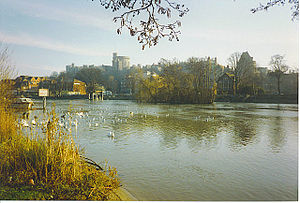 River Thames and Windsor Castle Taken from the...