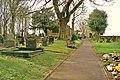 Rivington, Path to Church through Churchyard - geograph.org.uk - 1715280.jpg