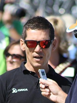 Robbie McEwen - McEwen at the 2013 Tour Down Under