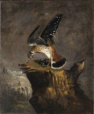 Robert S. Duncanson - Image: Robert Duncanson Vulture n Prey 1844